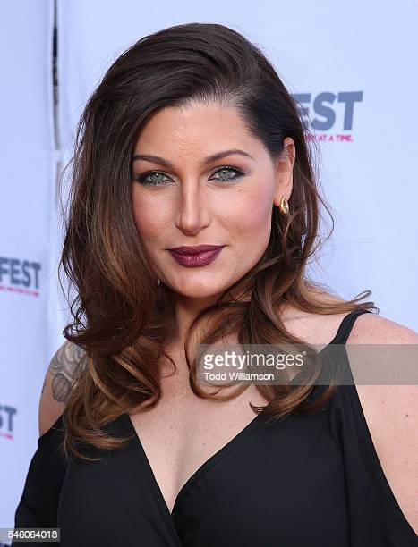 Trace Lysette attends a Amazon Original Series 'Transparent' Screening At Outfest Los Angeles at DGA Theater on July 10 2016 in Los Angeles California