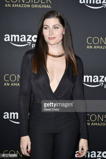 Trace Lysette attends Amazon Prime Video's Emmy FYC Event And Screening For 'Transparent' Arrivals on April 22 2017 in Hollywood California