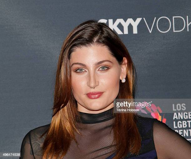 Trace Lysette attends the premiere of Amazon's 'Transparent' season 2 at SilverScreen Theater at the Pacific Design Center on November 9 2015 in West...