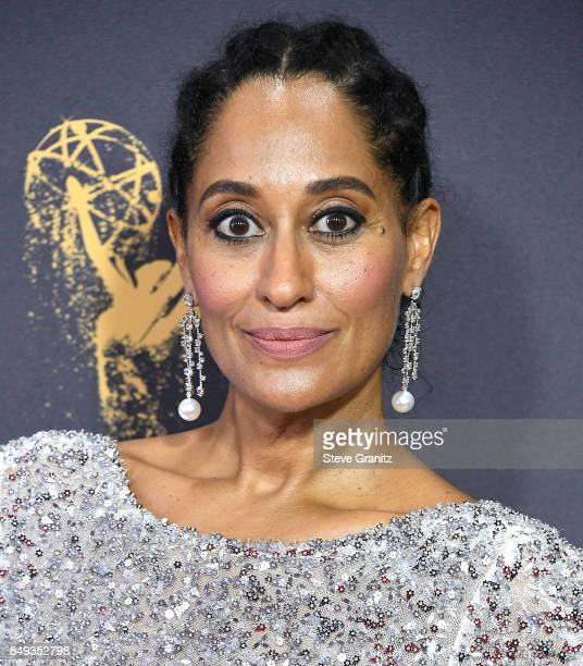 Tracee Ellis Ross arrives at the 69th Annual Primetime Emmy Awards at Microsoft Theater on September 17 2017 in Los Angeles California