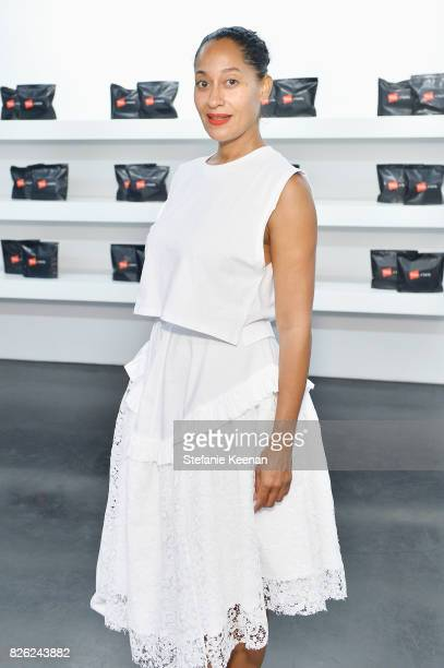 Tracee Ellis Ross at x karla Launch Party at Maxfield on August 3 2017 in Los Angeles California