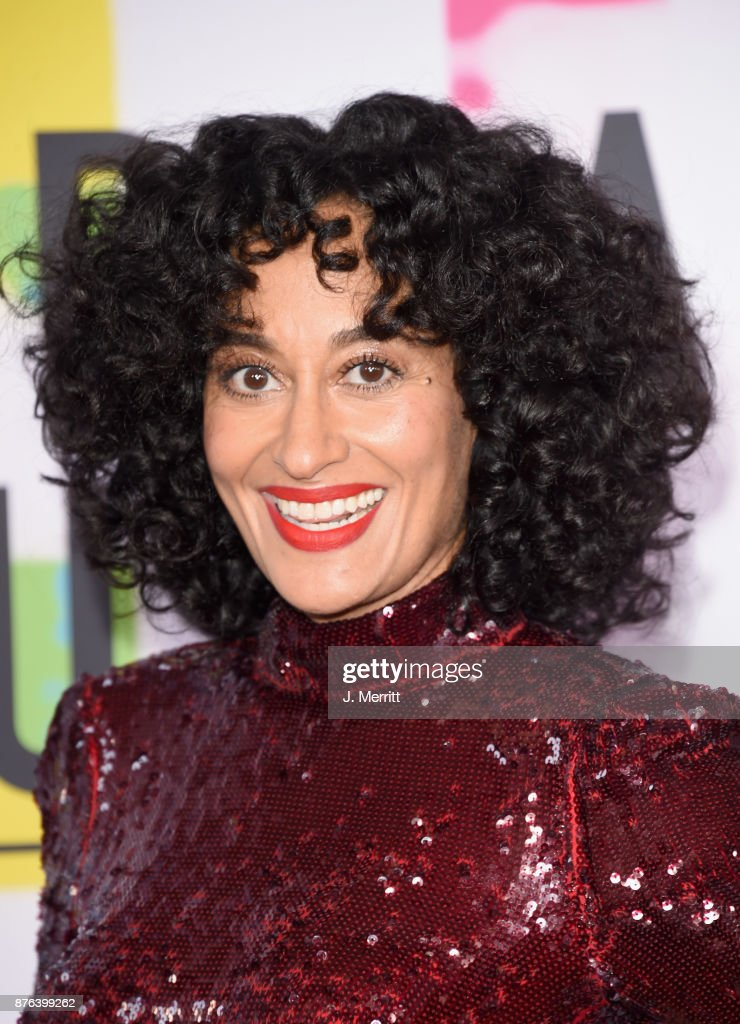 Tracee Ellis Ross attends 2017 American Music Awards at Microsoft Theater on November 19, 2017 in Los Angeles, California.