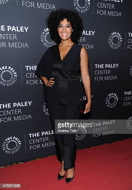 Tracee Ellis Ross attends A Tribute To AfricanAmerican Achievements In Television hosted by The Paley Center For Media at Cipriani Wall Street on May...