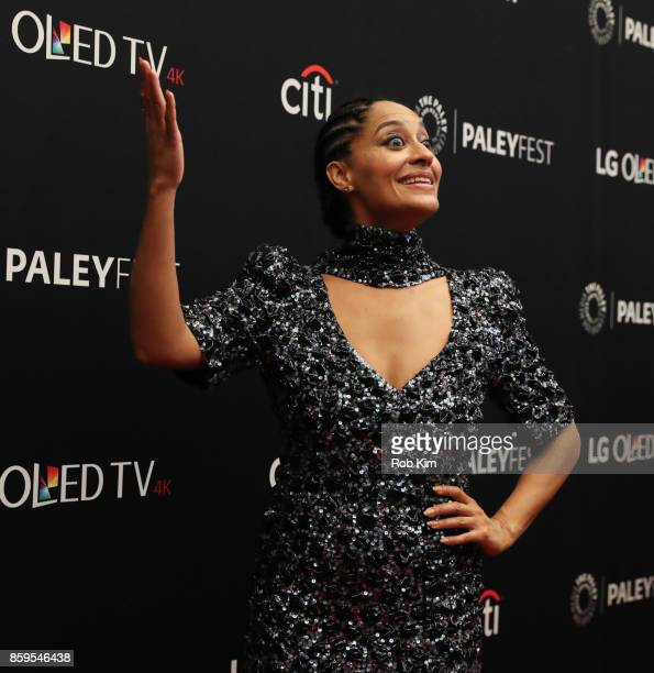 Tracee Ellis Ross attends 'Blackish' at The Paley Center for Media on October 9 2017 in New York City