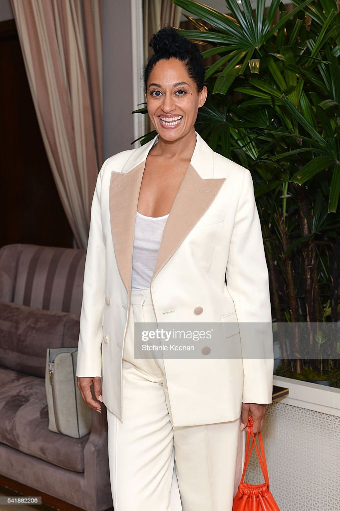 Tracee Ellis Ross attends Glamour and Facebook Host Power Players In Hollywood Politics Lunch at Sunset Tower in West Hollywood at Sunset Tower Hotel...