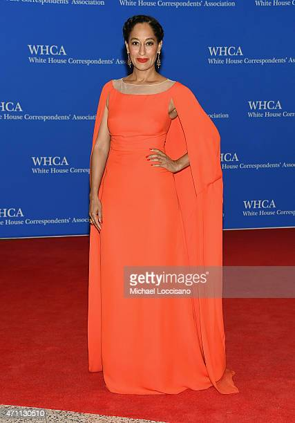Tracee Ellis Ross attends the 101st Annual White House Correspondents' Association Dinner at the Washington Hilton on April 25 2015 in Washington DC
