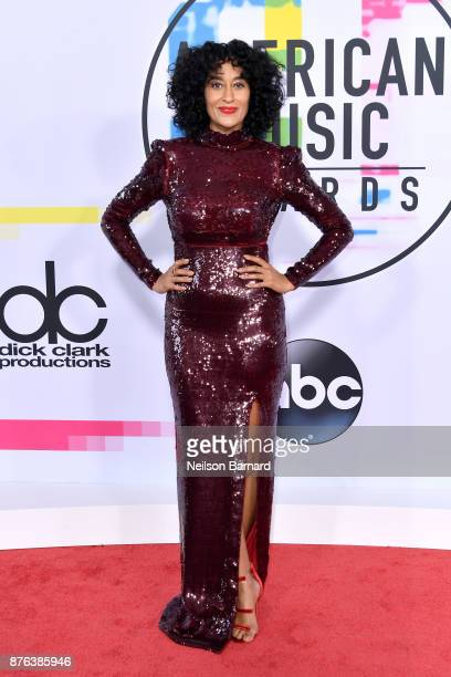 Tracee Ellis Ross attends the 2017 American Music Awards at Microsoft Theater on November 19 2017 in Los Angeles California
