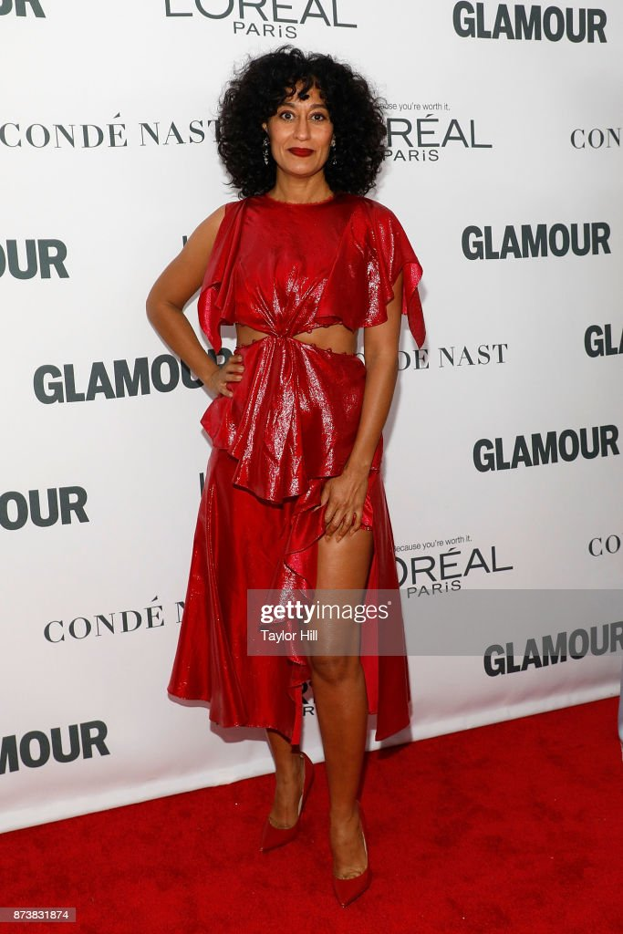 Tracee Ellis Ross attends the 2017 Glamour Women Of The Year Awards at Kings Theatre on November 13, 2017 in New York City.