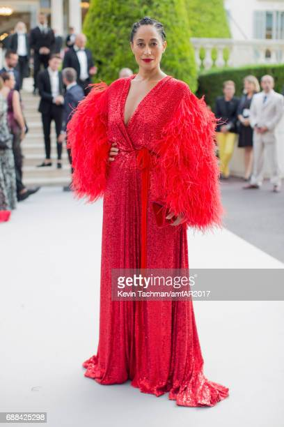 Tracee Ellis Ross attends the amfAR Gala Cannes 2017 at Hotel du CapEdenRoc on May 25 2017 in Cap d'Antibes France