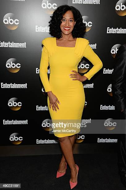 Tracee Ellis Ross attends the Entertainment Weekly ABC Upfronts Party at Toro on May 13 2014 in New York City