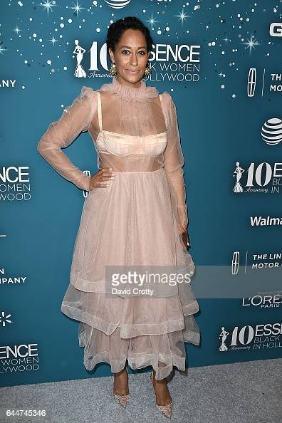 Tracee Ellis Ross attends the Essence 10th Annual Black Women In Hollywood Awards Gala at the Beverly Wilshire Four Seasons Hotel on February 23 2017...