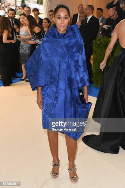 Tracee Ellis Ross attends the 'Rei Kawakubo/Comme des Garcons Art Of The InBetween' Costume Institute Gala at Metropolitan Museum of Art on May 1...