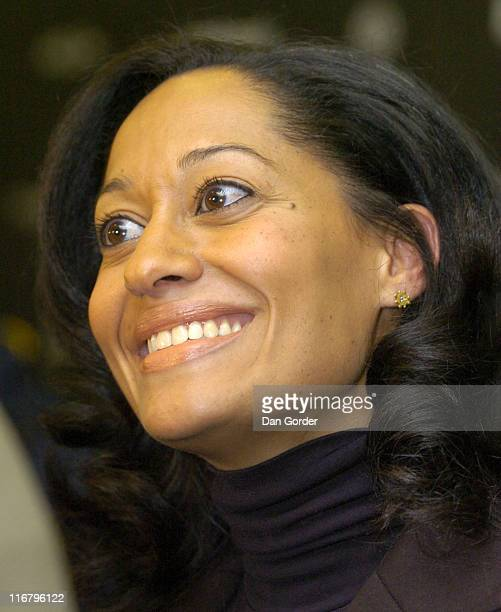Tracee Ellis Ross during 2007 Sundance Film Festival 'Life Support' Premiere at Eccles in Park City Utah United States