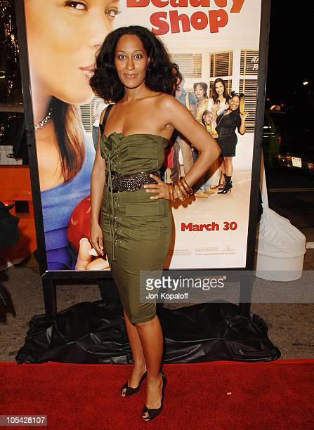 Tracee Ellis Ross during 'Beauty Shop' World Premiere at Grauman's Chinese Theatre in Hollywood California United States