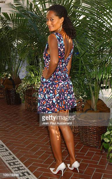 Tracee Ellis Ross during UPN All Star Summer Party at Shutters in Santa Monica California United States
