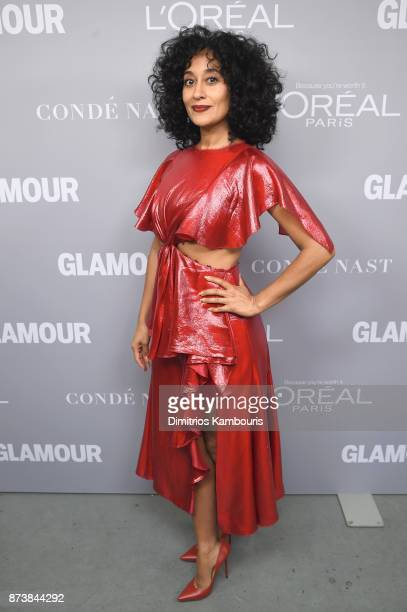Tracee Ellis Ross poses backstage at Glamour's 2017 Women of The Year Awards at Kings Theatre on November 13 2017 in Brooklyn New York