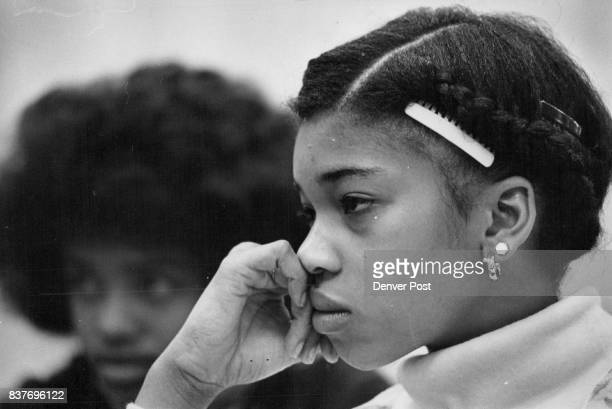 Tracee Lewis said many Gove Junior High girls have double pierced ears like hers Straight skirts with slits 1930s dresses and stockings with seams...