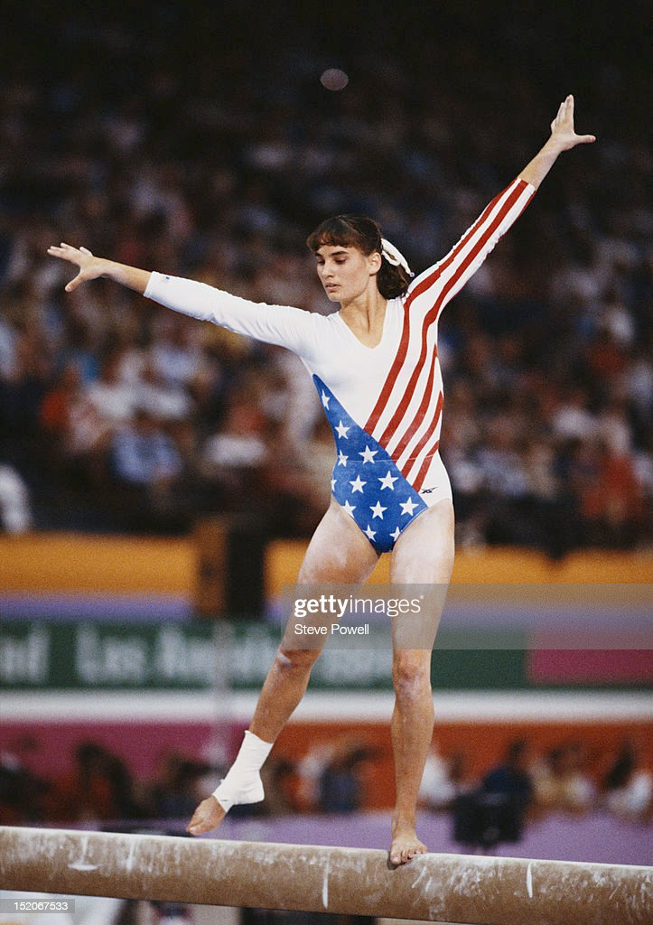 American Gymnastics Team During 1984 Stock Photos & American ...