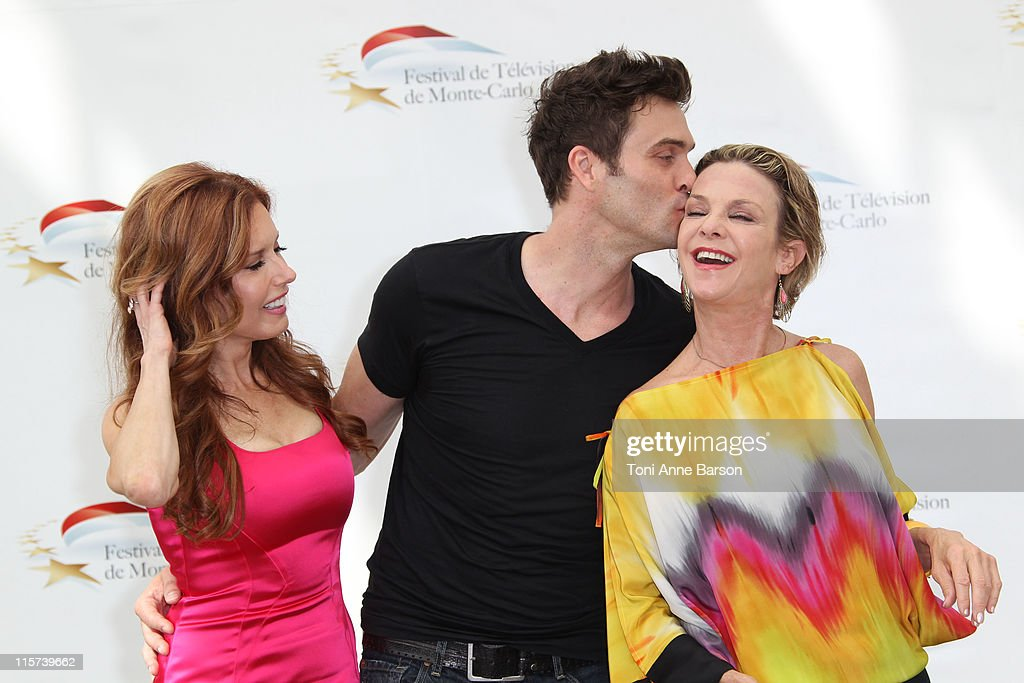 Tracey Bregman, Daniel Goddard and <a gi-track='captionPersonalityLinkClicked' href=/galleries/search?phrase=Judith+Chapman&family=editorial&specificpeople=665937 ng-click='$event.stopPropagation()'>Judith Chapman</a> attend Photocall for 'The Young And The Restless' during the 51st Monte Carlo TV Festival on June 9, 2011 in Monaco, Monaco.