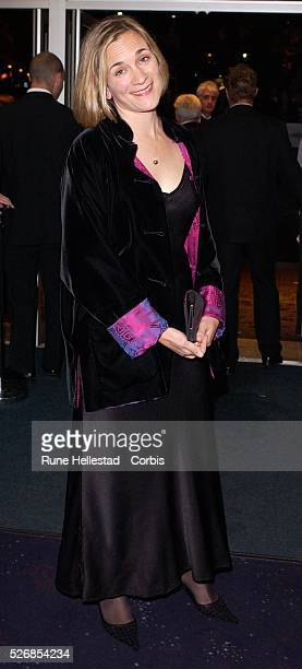 Tracey Chevalier attends the premiere of 'Girl With A Pearl Earring' at the Odeon WestEnd in conjunction with the London Film Festival