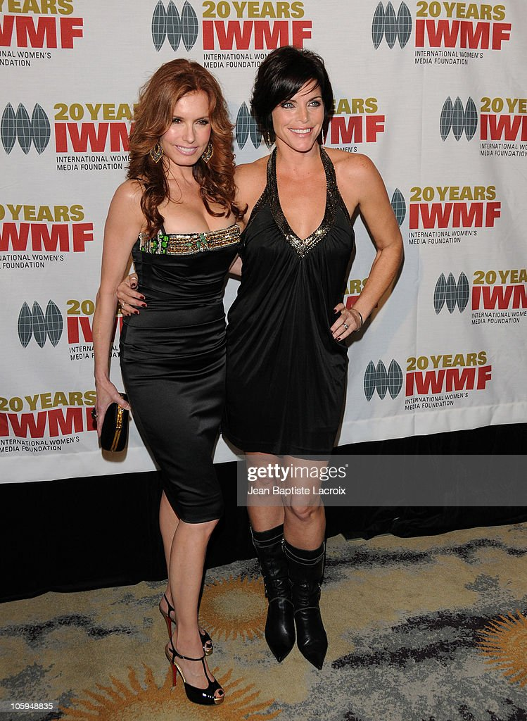Tracey E. Bregman and Lesli Kay arrive at The International Women's Media Foundation's 'Courage In Journalism' awards held at Beverly Hills Hotel on October 21, 2010 in Beverly Hills, California.
