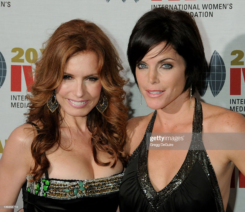 Tracey E. Bregman and Lesli Kay arrive at The International Women's Media Foundation's 2010 Courage in Journalism Awards held at the Beverly Hills Hotel on October 21, 2010 in Beverly Hills, California.