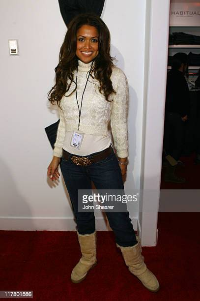 Tracey Edmonds at Habitual during 2007 Park City Village at the Lift Day 2 at Village at the Lift in Park City Utah United States