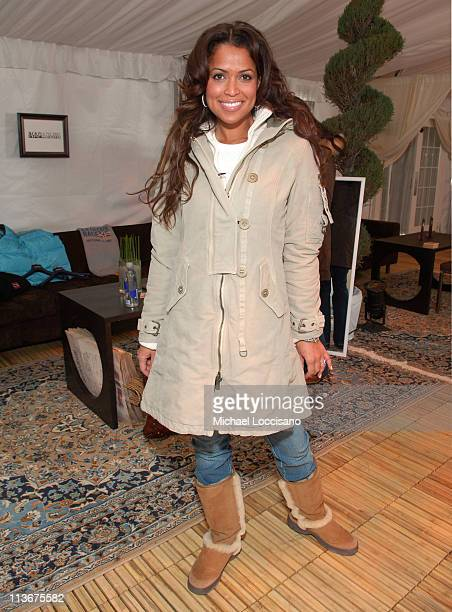 Tracey Edmonds wearing Napapijri during 2007 Park City The Ice Lounge Presented By The North Face Lexus and St Regis Day 5 at The Ice House Lounge in...