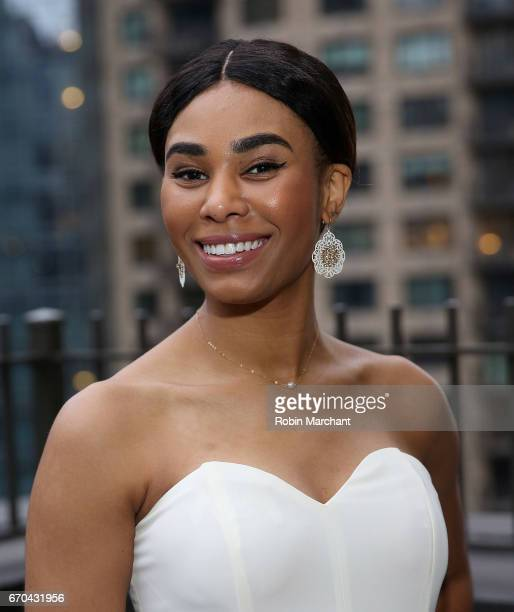 Tracey Edouard attends Luna Bar And Motivate Design Present Wage On Making The Wage Gap History at WestHouse Hotel on April 19 2017 in New York City