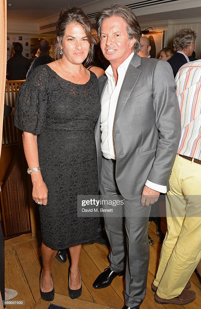 Tracey Emin and Richard Caring attend Dogs Trust at George on September 9 2014 in London England