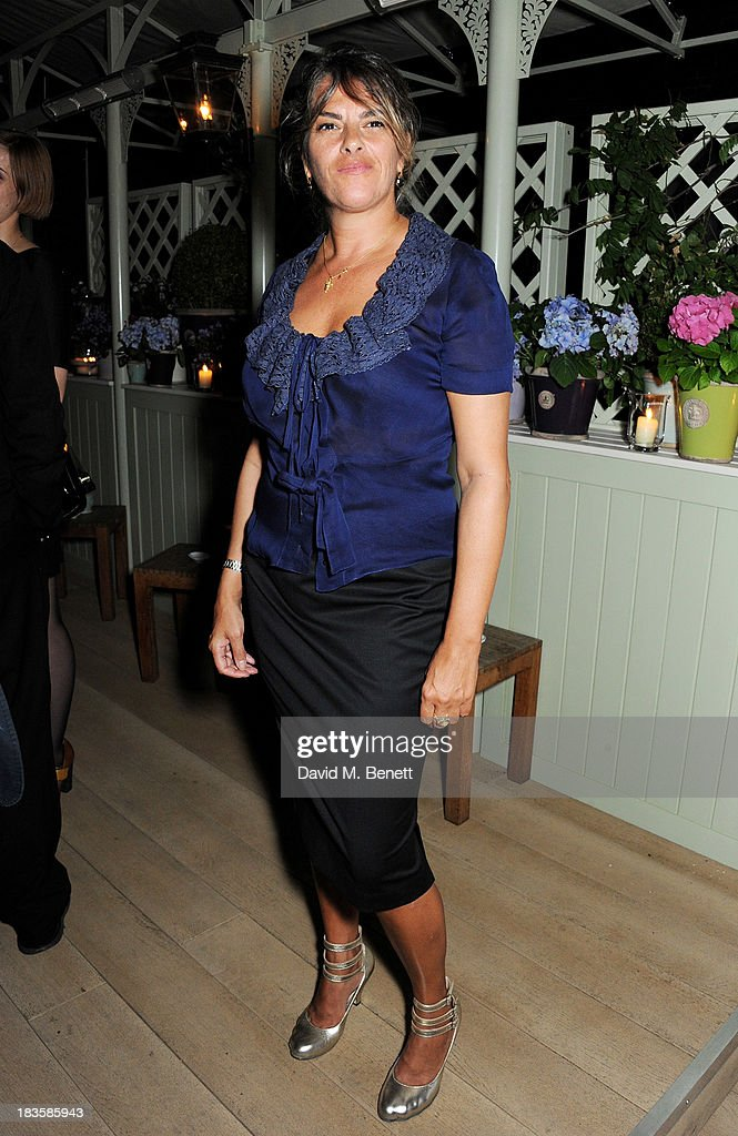Tracey Emin attends a fundraiser for the Royal National Lifeboat Institution at Mark's Club on October 7 2013 in London England
