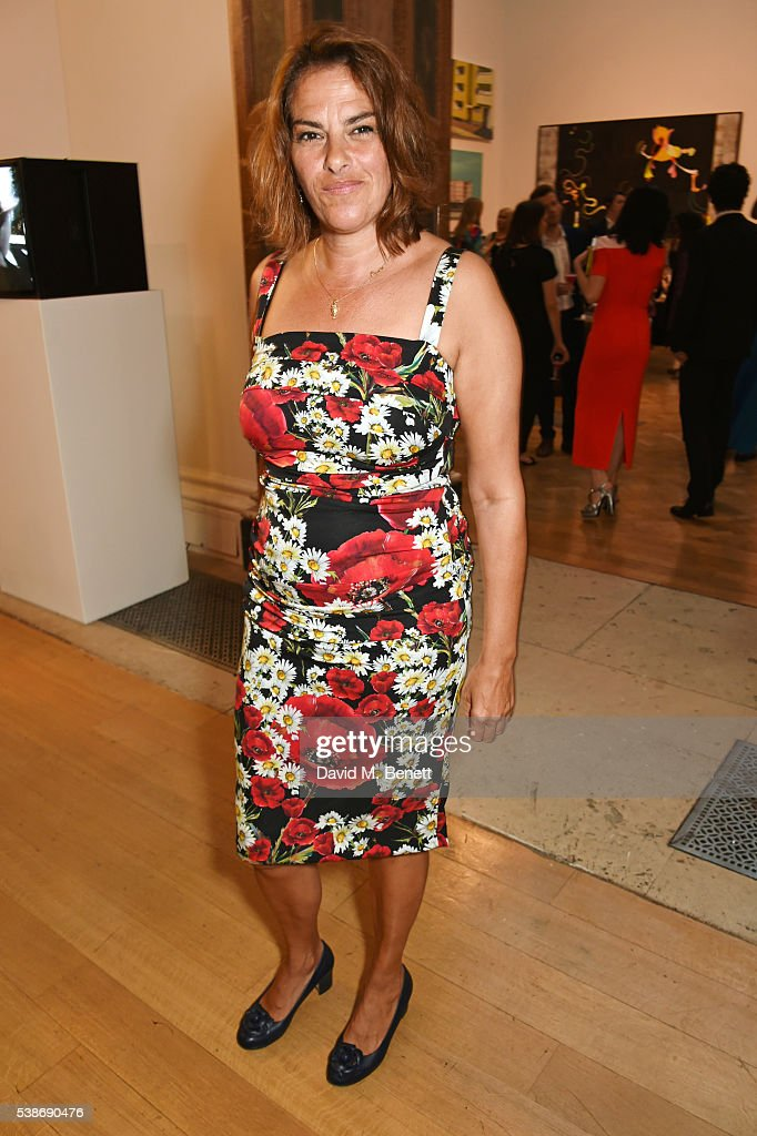 Tracey Emin attends a VIP preview of the Royal Academy of Arts Summer Exhibition 2016 on June 7 2016 in London England