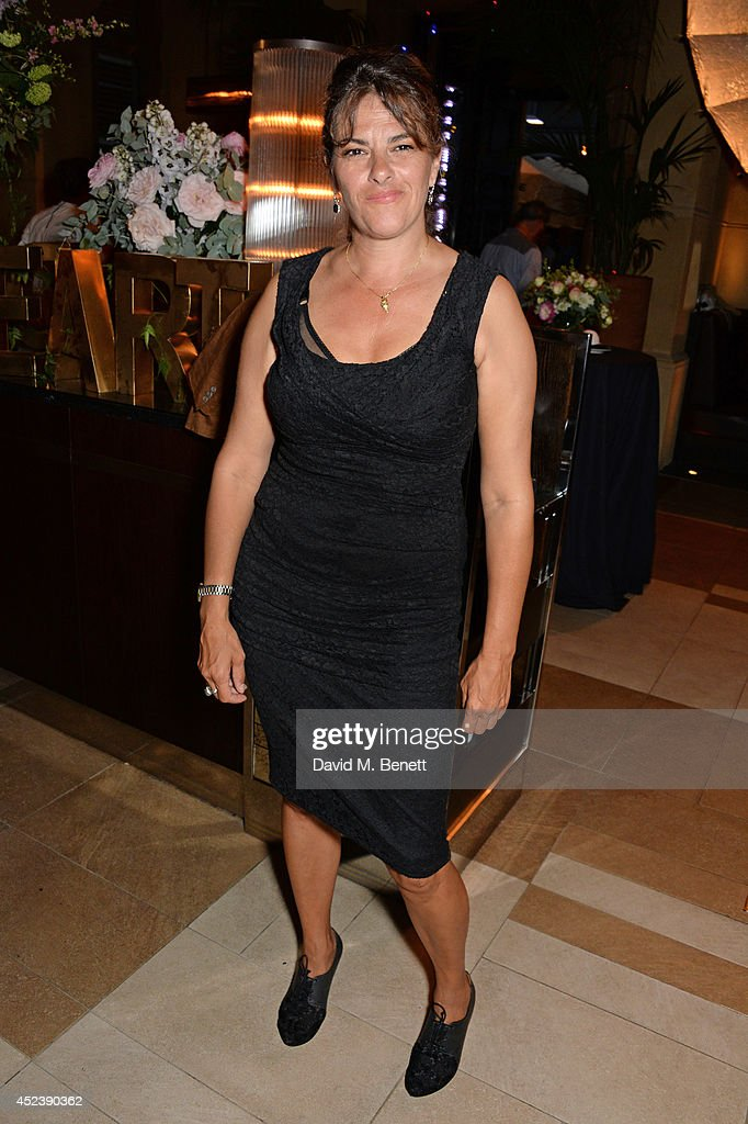 Tracey Emin attends the a party celebrating the 35th anniversary of 'The Golden Heart' pub at Galvin La Chapelle on July 19 2014 in London England