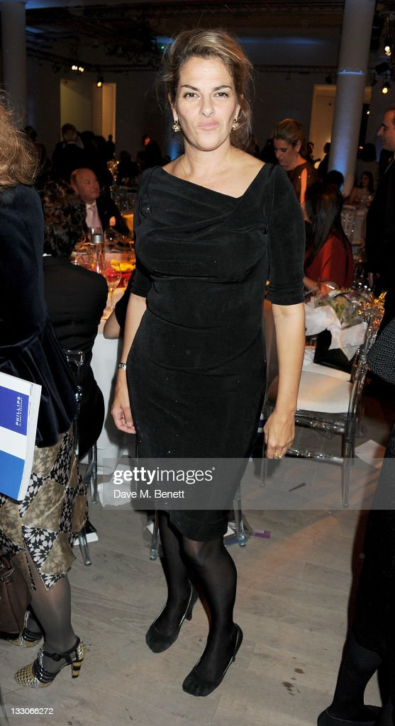 Tracey Emin attends the BFAMI Gala Dinner and Charity Auction in aid of the British Friends of the Art Museums of Israel at Phillips de Pury And...
