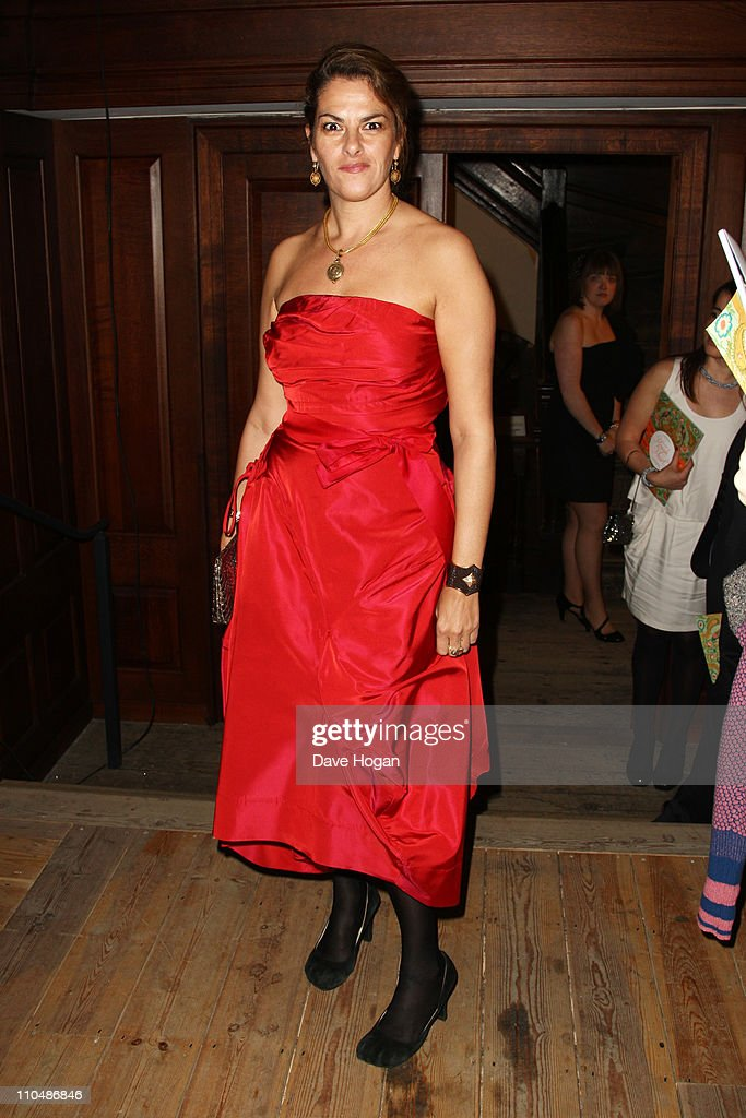 Tracey Emin attends the Cardboard Citizens fundraising dinner held at Christ Church Spitalfields on March 19 2011 in London England