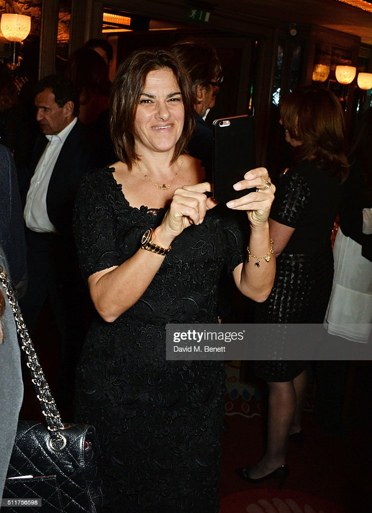 Tracey Emin attends the launch of Tracey Emin and Stephen Webster's new jewellery collection 'I Promise To Love You' at 34 Grosvenor Square on...