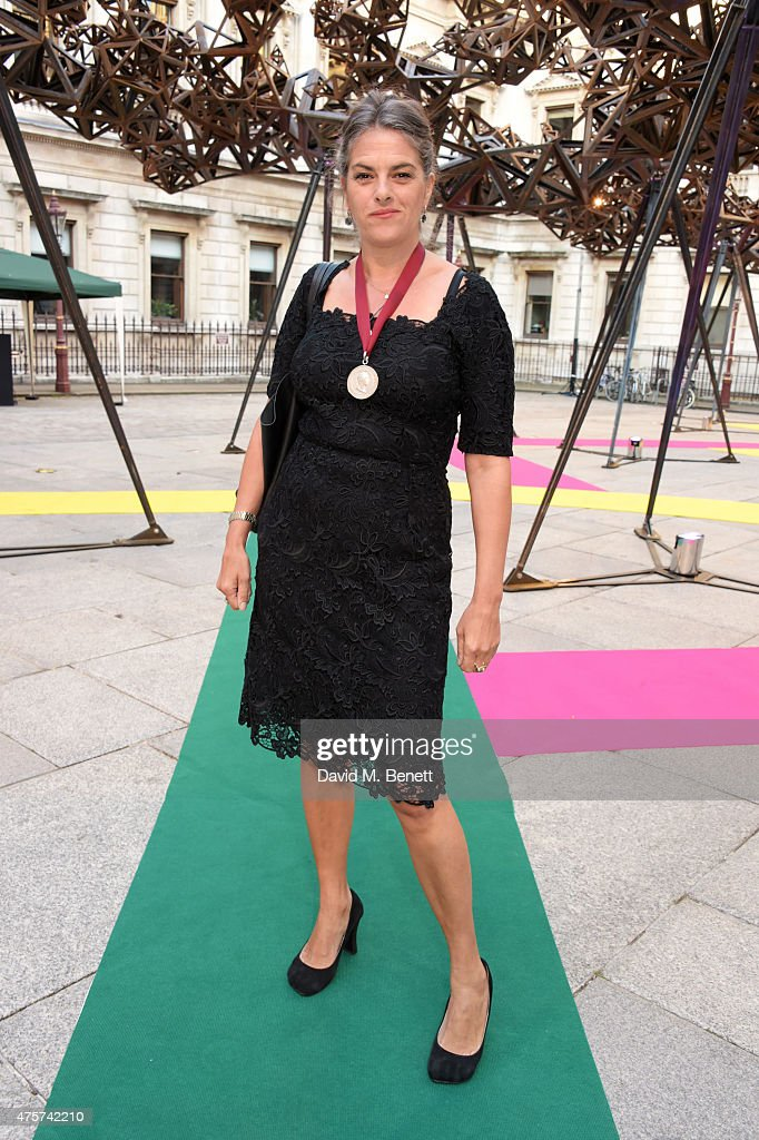 Tracey Emin attends the Royal Academy of Arts Summer Exhibition preview party at the Royal Academy of Arts on June 3, 2015 in London, England.