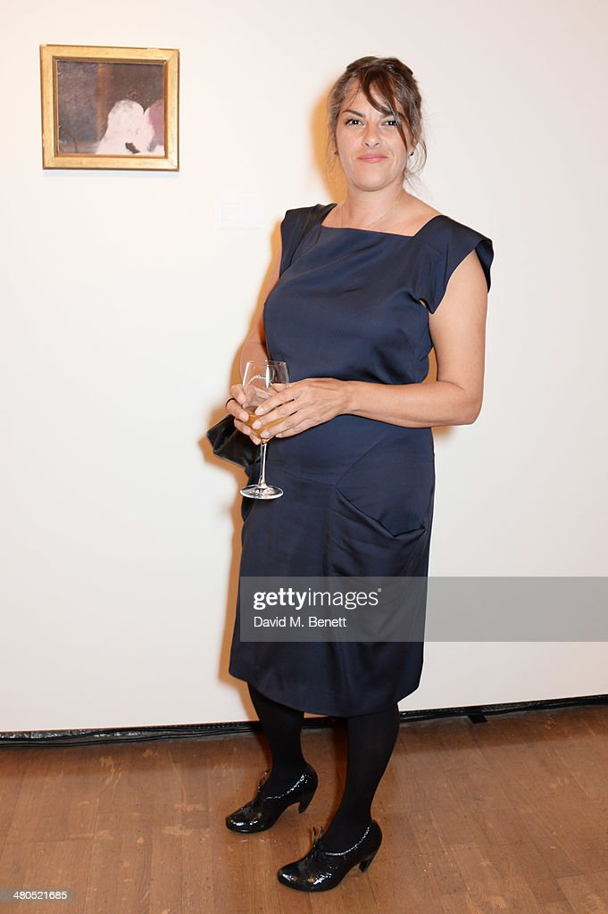 Tracey Emin attends the Royal Academy Schools annual dinner and auction 2014 at Royal Academy of Arts on March 25 2014 in London England