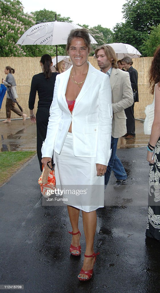Tracey Emin during The Serpentine Gallery Summer Party Cohosted By Jimmy Choo Inside Arrivals at The Serpentine Gallery in London Great Britain