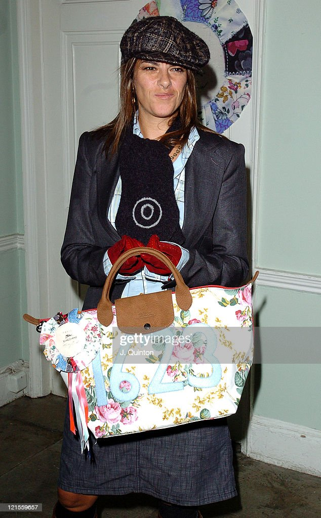Tracey Emin during Tracey Emin Longchamp Bag Launch at 33 Portland Place in London Great Britain