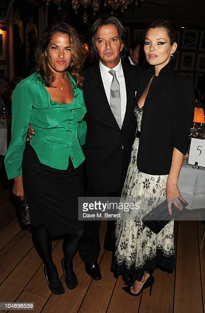 Tracey Emin Richard Caring and Kate Moss attend the 2010 Help for Heroes Auction hosted by David Bailey Dylan Jones and Sir Philip Green at Harry's...