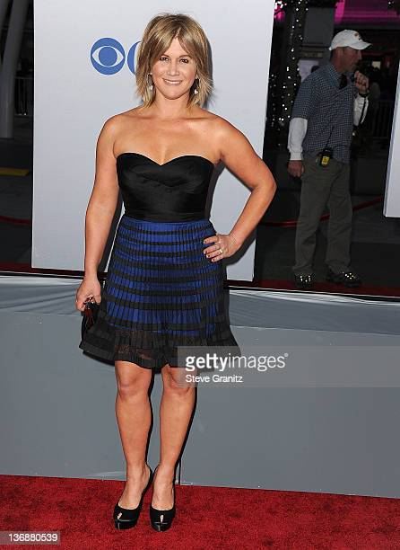 Tracey Gold attends People's Choice Awards 2012 at Nokia Theatre LA Live on January 11 2012 in Los Angeles California