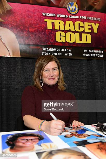 Tracey Gold attends Wizard World Comic Con Fan Fest Chicago at Donald E Stephens Convention Center on March 7 2015 in Chicago Illinois