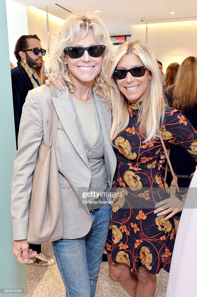 Tracey Ross and Rachel Zalis attend Barneys New York, Ann Dexter-Jones, And Annabelle Dexter-Jones Host A Private Luncheon For Delvaux at Barneys New York Beverly Hills on May 24, 2016 in Beverly Hills, California.