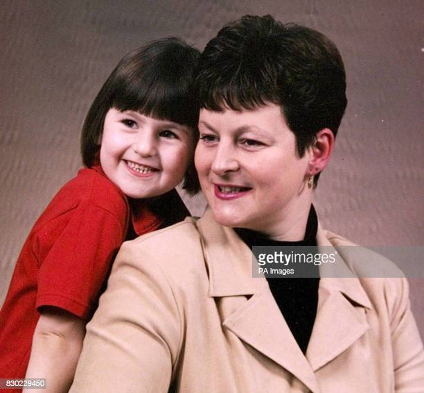 Tracey Selley with her daughter Karla who died after collapsing at a dental surgery in Leyland Lancashire 5 year old Karla had had a tooth extracted...