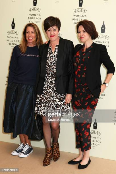 Tracey Thorn and guests attend the Baileys Women's Prize For Fiction Awards 2017 at The Royal Festival Hall on June 7 2017 in London England