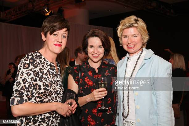 Tracey Thorn guest and Issy Van Randwyck attend the Baileys Women's Prize For Fiction Awards 2017 at The Royal Festival Hall on June 7 2017 in London...