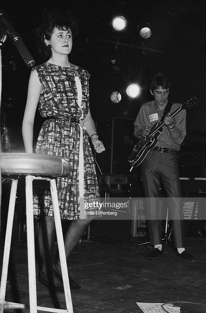 Tracey Thorn of Everything But The Girl performs on stage with guest Paul Weller at the ICA London United Kingdom 5th January 1983
