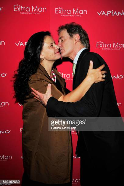Tracey Ullman and Kevin Kline attend Vapiano hosts the New York Premiere of THE EXTRA MAN red carpet arrivals and afterparty at Village East Cinema...