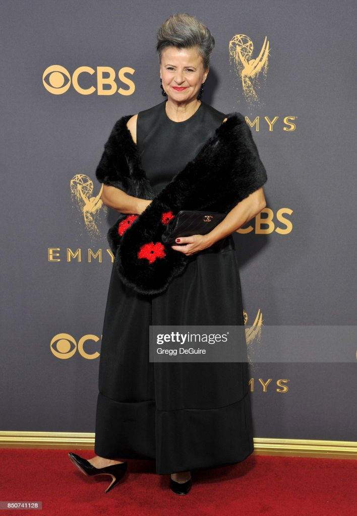 Tracey Ullman arrives at the 69th Annual Primetime Emmy Awards at Microsoft Theater on September 17, 2017 in Los Angeles, California.